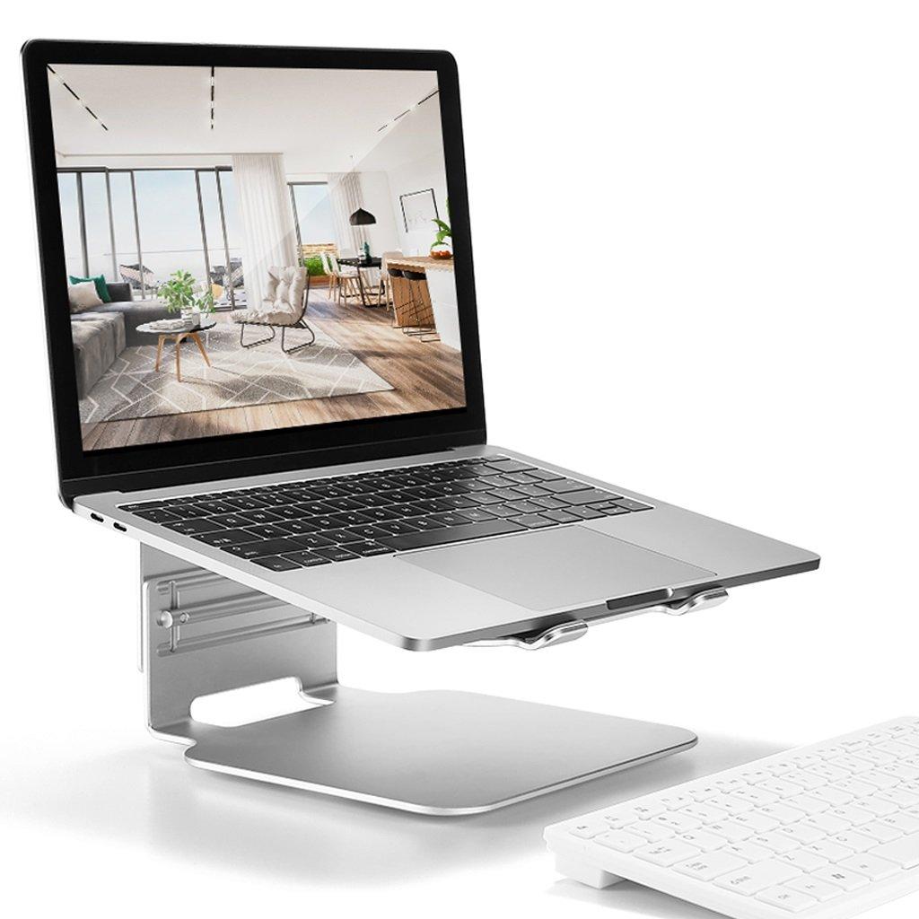 XY Soap dish Desktop Rotary Radiator Computer Base, Aluminum Notebook Desk, Three-Speed Adjustable Rotating Chassis Notebook Desk, 245mm230mm135mm—120mm—105mm by XY Soap dish (Image #7)
