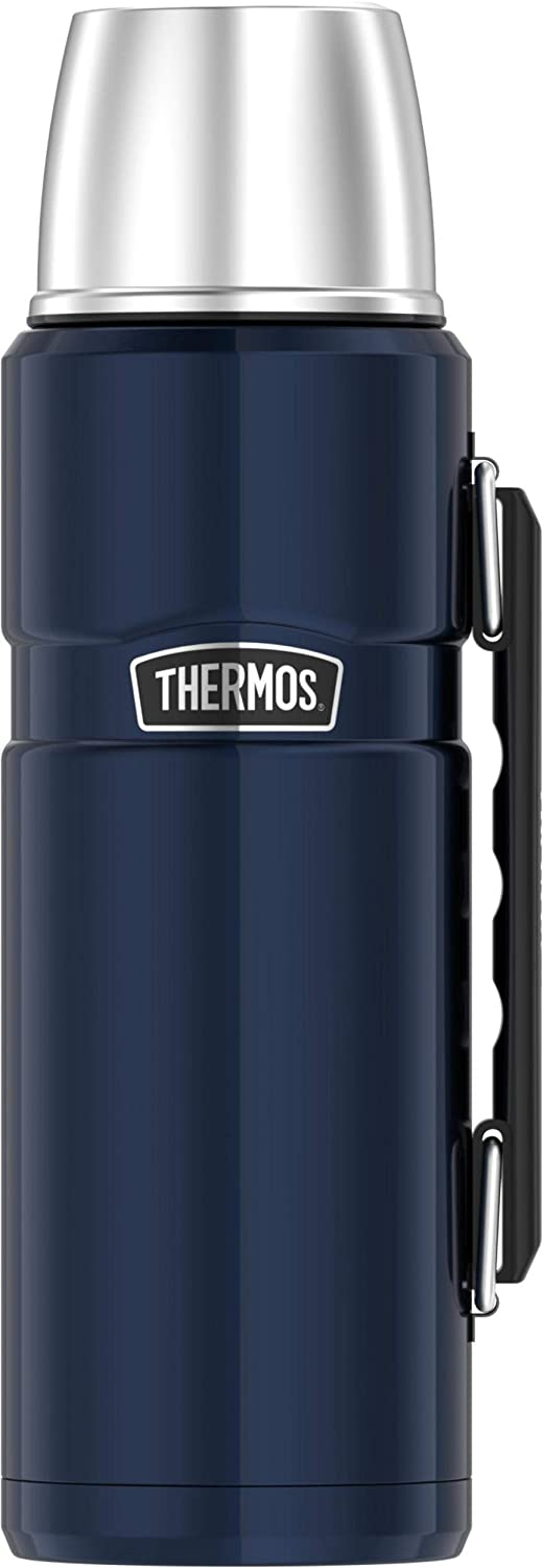 Thermos SK2010MDB4 Beverage Bottle, 40 Ounce, Matte Blue