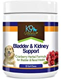 K9 Bladder Support for Dogs - Cranberry Urinary Tract Dog UTI Treats Incontinence Control Pills - no More Antibiotics…