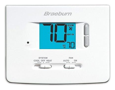 amazon com braeburn 1020nc thermostat non programmable 1h 1c rh amazon com