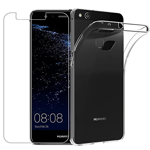 6 opinioni per Custodia Huawei P10 Lite [Pellicola Protettiva in Vetro Temperato], Yoowei®