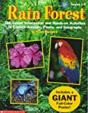 img - for Rain Forest: Interactive Geography Kit (Grades 2-5) book / textbook / text book