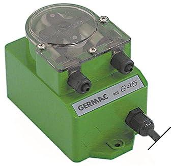 GerMAC G42 - Dosificador para lavavajillas (conexión de manguera ...