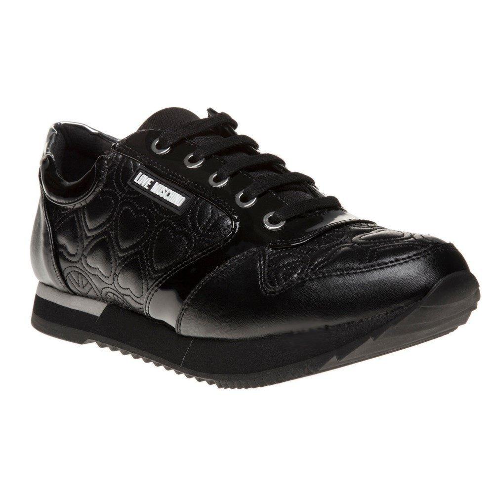 Love Moschino Runner Womens Sneakers Black