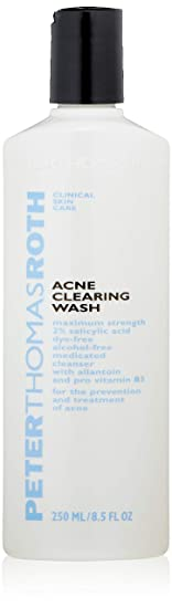 Peter Thomas Roth Acne Clearing Wash 2 Percents Salicylic Acid, 8.5 Oz by Peter Thomas Roth