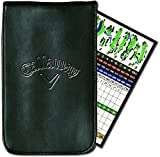 Callaway Golf Leather Scorecard Holder