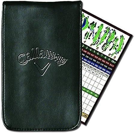 Callaway C40104 - Funda de Cuero para Tarjetas de puntuación de ...