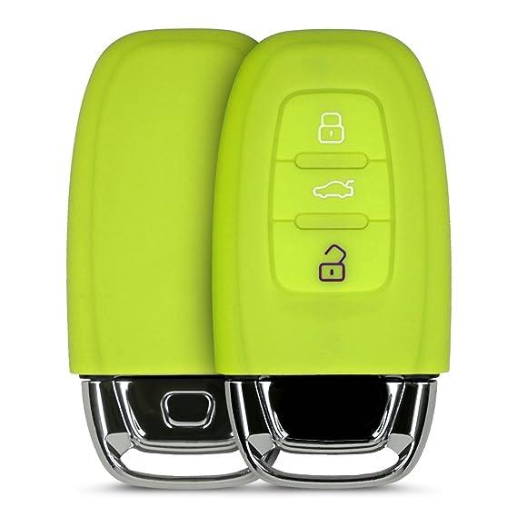 Amazon Com Kwmobile Audi Car Key Cover Silicone Protective Key