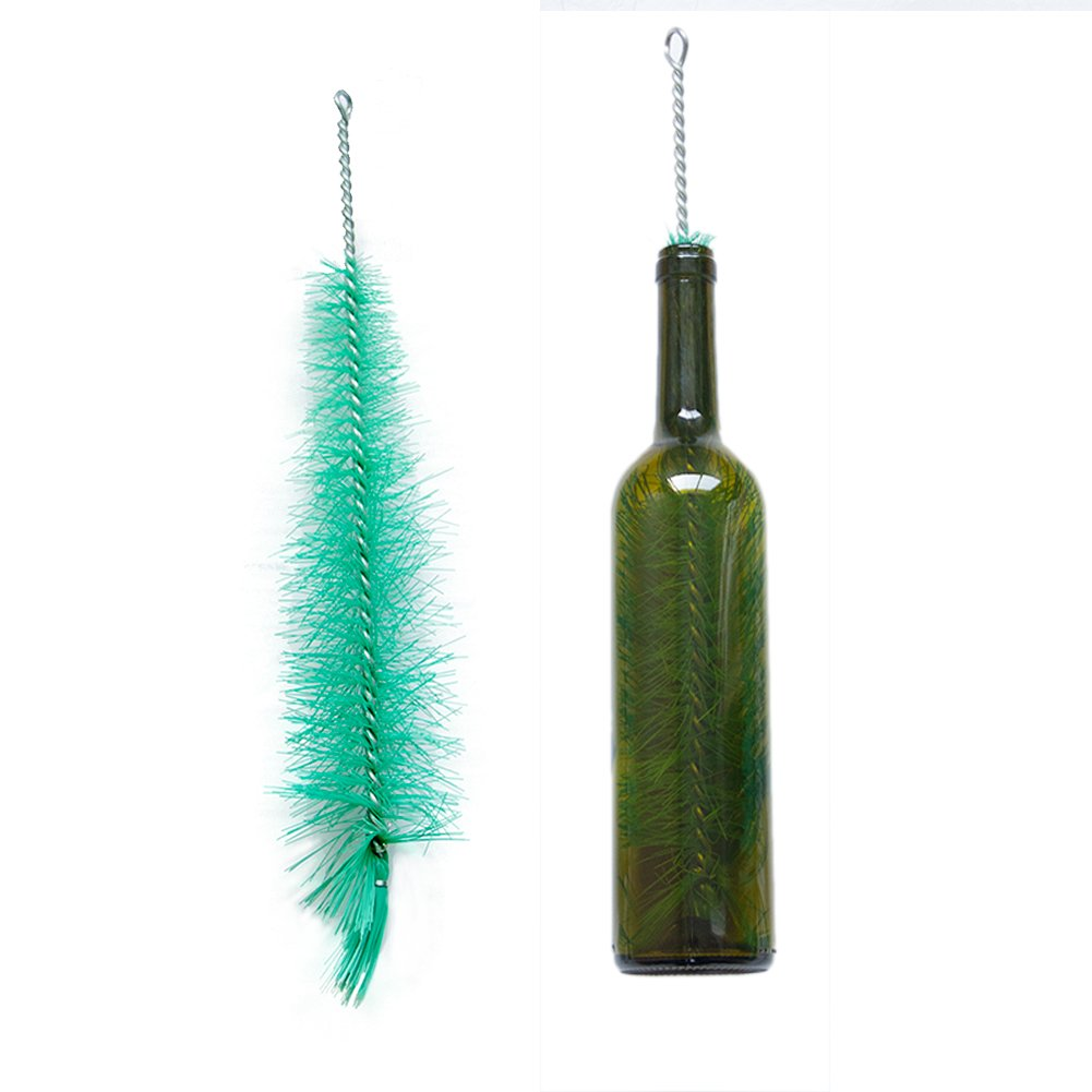 Long Durable Bottle Cleaning Brush /& Wine Bottle Brush 40cm A