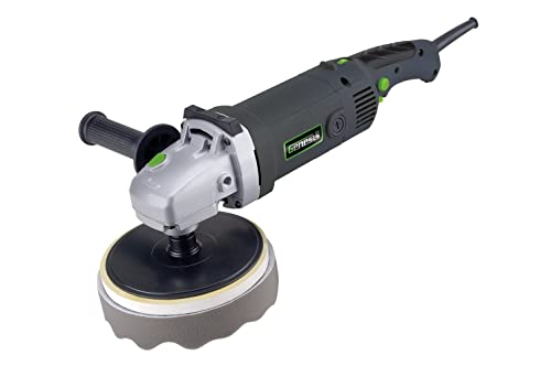 Genesis GSP1711 7-Inch Variable Speed Sander Polisher Kit, Grey Green