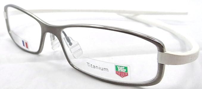 Tag Heuer Reflex 2 Rx Eyeglasses Frame Th 3705 007 53x15 Silver ...