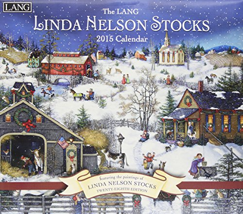 Perfect Timing - Lang Linda Nelson Stocks 2015 Wall Calendar, January - December, 13.375 x 24 inches (1001847)