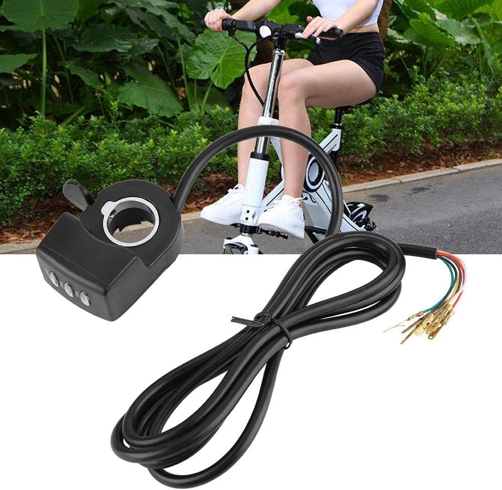48V Control Thumb Throttle Assembly for E-bike Electric Bike Qiilu Control Throttles
