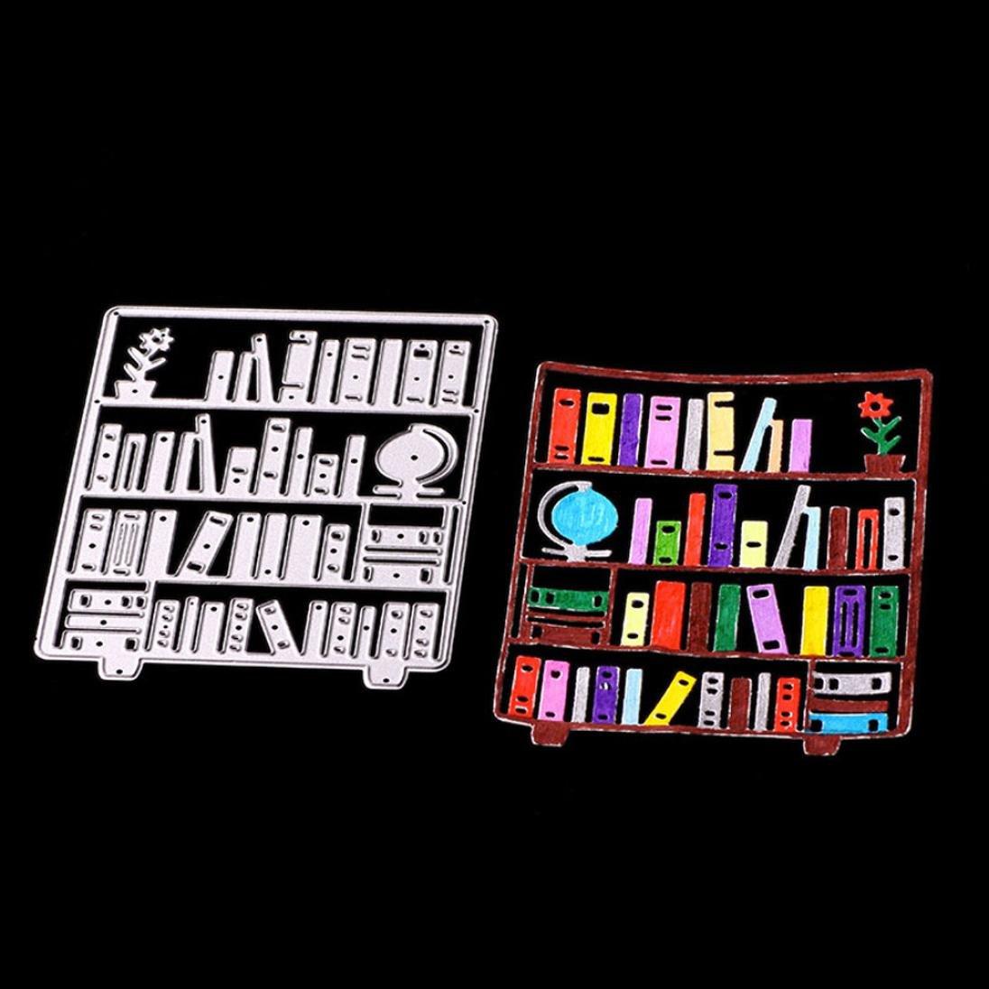 A FNKDOR Fustelle per Scrapbooking Fustella Fustellatrice Stencil DIY Metallo Embossing Cutting Dies Carta Album Foto Accessori per Big Shot e altre macchina