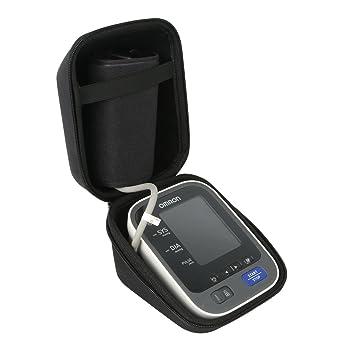 Khanka Duro Viaje Estuche Bolso Funda para Omron M10-IT Tensiómetro de brazo eléctrico (