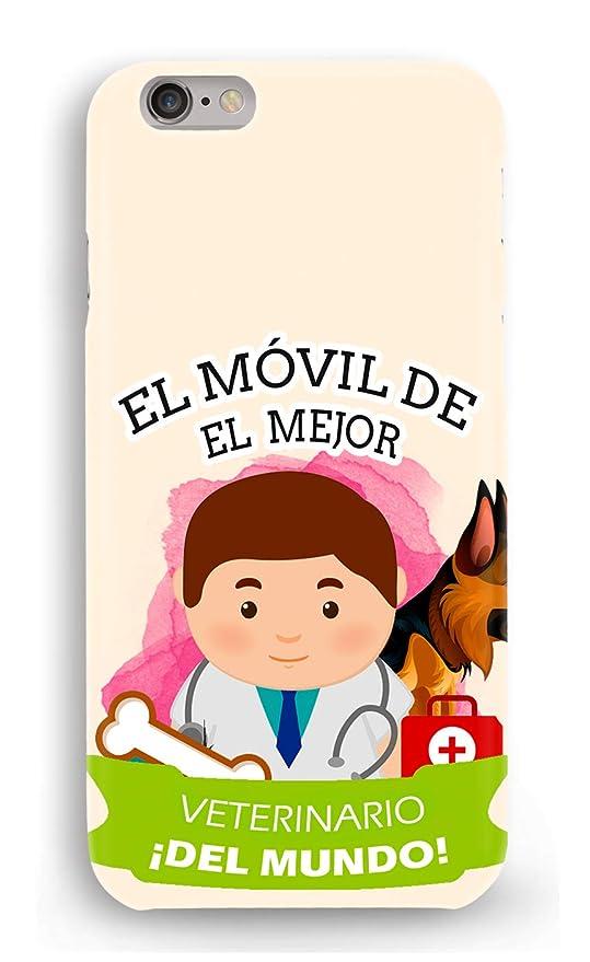 Funda Carcasa Veterinario para iPhone X plástico rígido