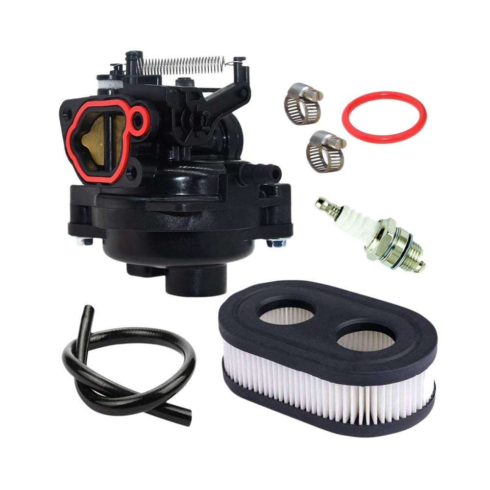 KEONG 799584 Carburetor for Briggs /& Stratton 09P702-0145-F1 09P702-0098-F1 TB110 TB200 for Poulan Pro 550EX 625EX 675EX 725EXI 140CC Engines with Air Filter Spark Plug