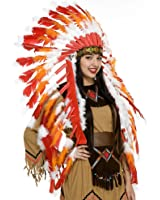 Charades Adult Indian Chieftain Headdress