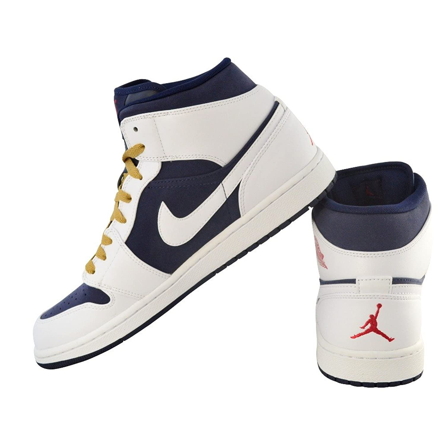 size 40 fe6f8 298ef ... coupon code for amazon nike air jordan 1 phat mid olympic 364770 400  mens sz.