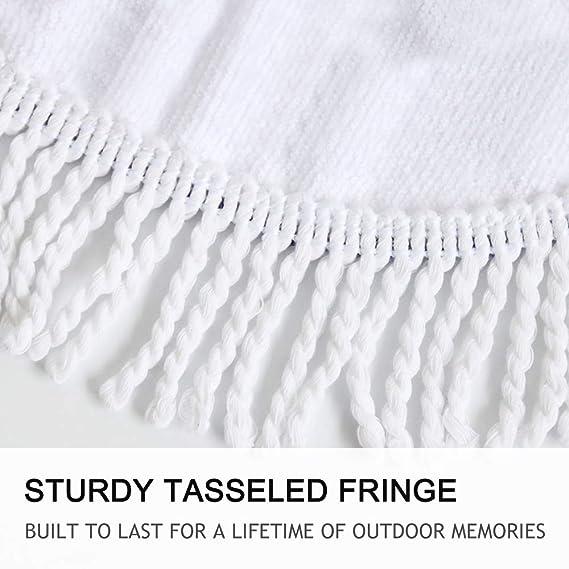 Amazon.com: Beddingoutlet Tassel Indian Toalla Mandala Tapestry Beach Towel Sunblock Round Bikini Cover-Up Blanket Lotus Bohemian Yoga Mat by RKR Shop (4): ...