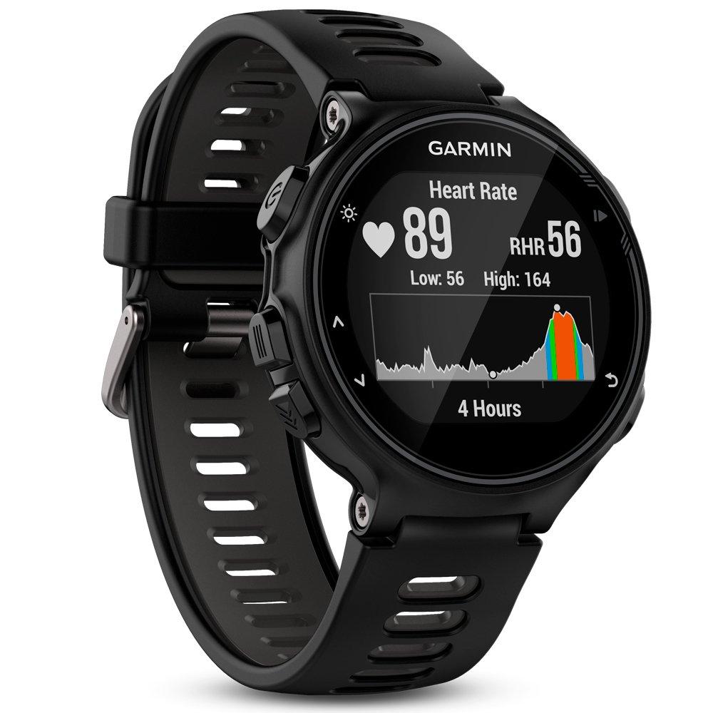 Garmin Forerunner 735XT GPS Avanzato Cardio da Polso Nero