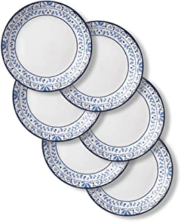 product image for Corelle Chip Resistant Lunch Plates, 6-Piece, Portofino