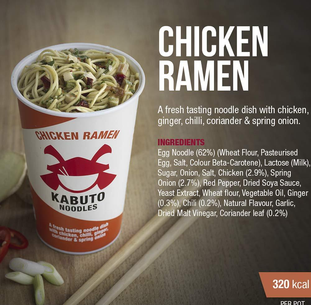 Kabuto - Sopa de noodles chicken ramen: Amazon.es: Alimentación y ...