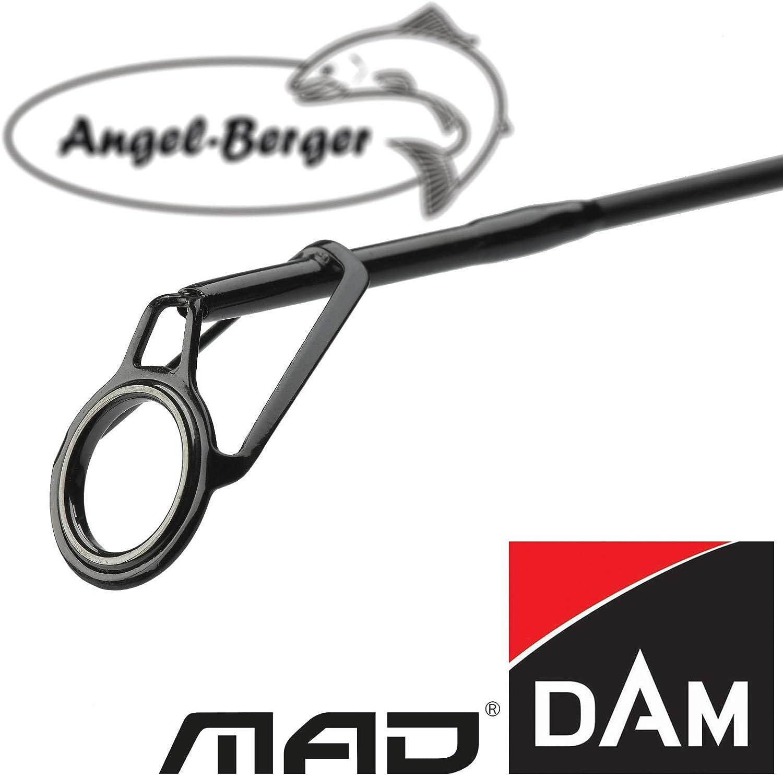 Angel-Berger Dam Mad XT1 Karpfenrute Angelrute Grundrute Rutenband