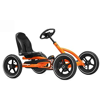 Berg Toys Ride On Kids Buddy Pedal Powered Go Kart - Orange