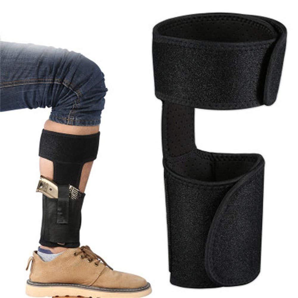 Concealed Ankle Leg Holster Magazine Pouch bag Hidden Pistol Hangun Gun Carry