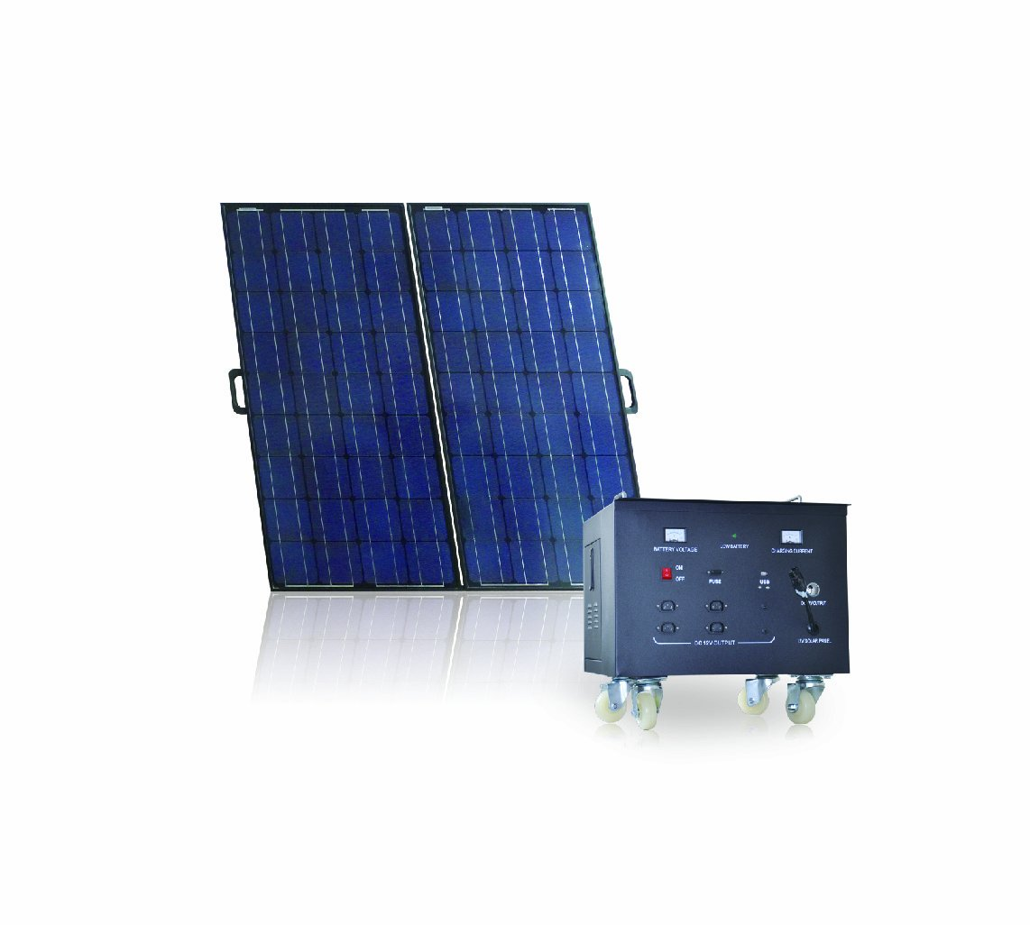 Sainty International GES-OFG-600A Off-Grid Indoor/Outdoor Solar Power System, 600-Watt