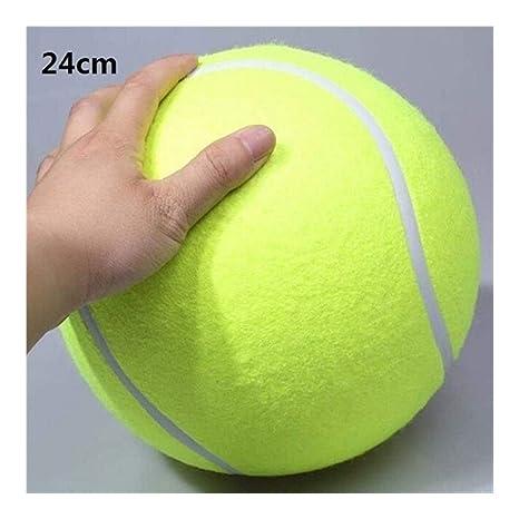 LUOSI Pelota de Tenis Gigante de 24 cm for Masticar Perro Pelota ...