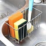 Sponge Holder - Kitchen Sink Organizer - Sink Caddy - Dish Brush Holder - Soap Holder