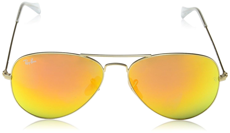 Ray-Ban Aviator RB3025 Aviator Gafas sol de sol de Oro 4cbaef8 ...