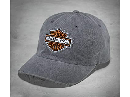 HARLEY-DAVIDSON - Gorra con Logotipo, Color Gris: Amazon.es: Coche ...