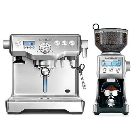 Gastroback oferta - máquina de café Espresso diseño Advanced Control + diseño molinillo de café Advanced