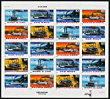 1996 Riverboats With Special Die Cutting Full Pane of 20 x 32 Cent Stamps Scott 3095b