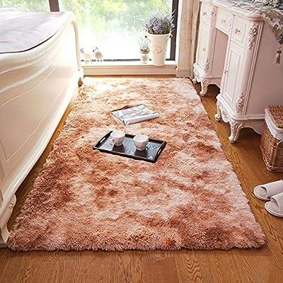 LXFDC Alfombras Suaves para el Dormitorio, Alfombra Shaggy