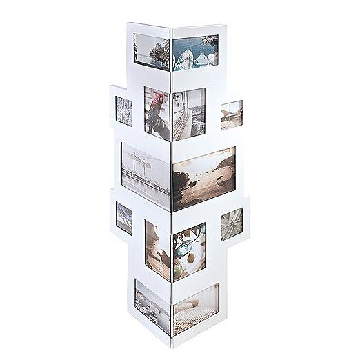 Portaretratos - Collage para esquinas, para 14 fotos, Madera ...