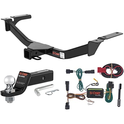 Curt Class  Trailer Hitch Tow Package With  Ball For   Ford