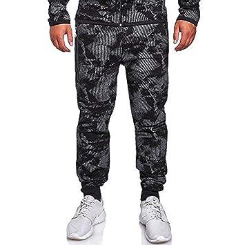 AmyGline - Conjunto de ropa deportiva para hombre, chándal, con ...