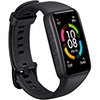 HONOR Band 6 Smart Watch SpO2 i pulsometr, inteligentna bransoletka z monitorem snu, Exercise Tracker, czarna
