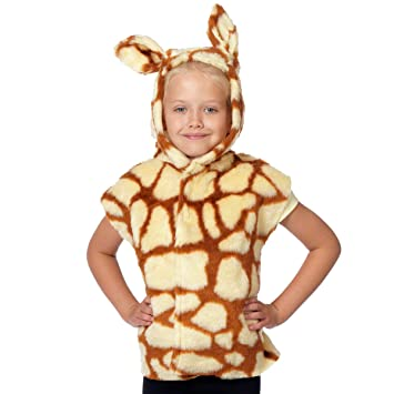 Charlie Crow Giraffe Costume for kids one size 3-9 Years  sc 1 st  Amazon UK & Charlie Crow Giraffe Costume for kids one size 3-9 Years: Amazon.co ...