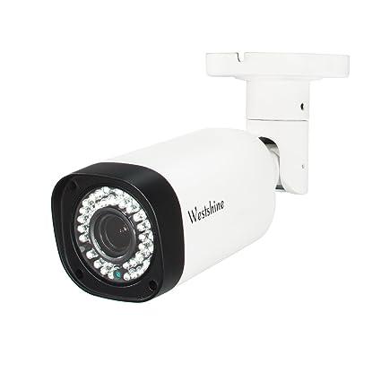 Westshine 1080P CCTV Cámara de vigilancia Seguridad Exterior 4 en 1 (TVI+CVI+