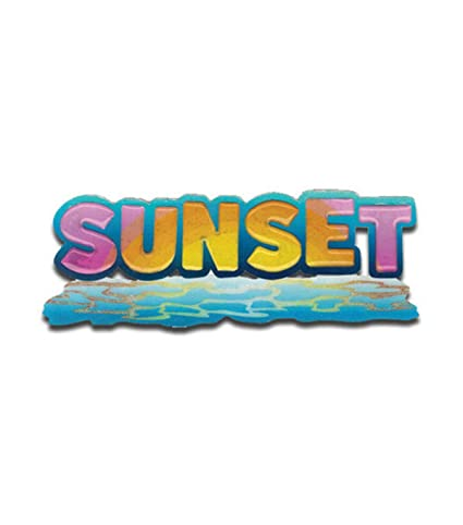Jolee's Boutique Title Wave Sticker - Sunset