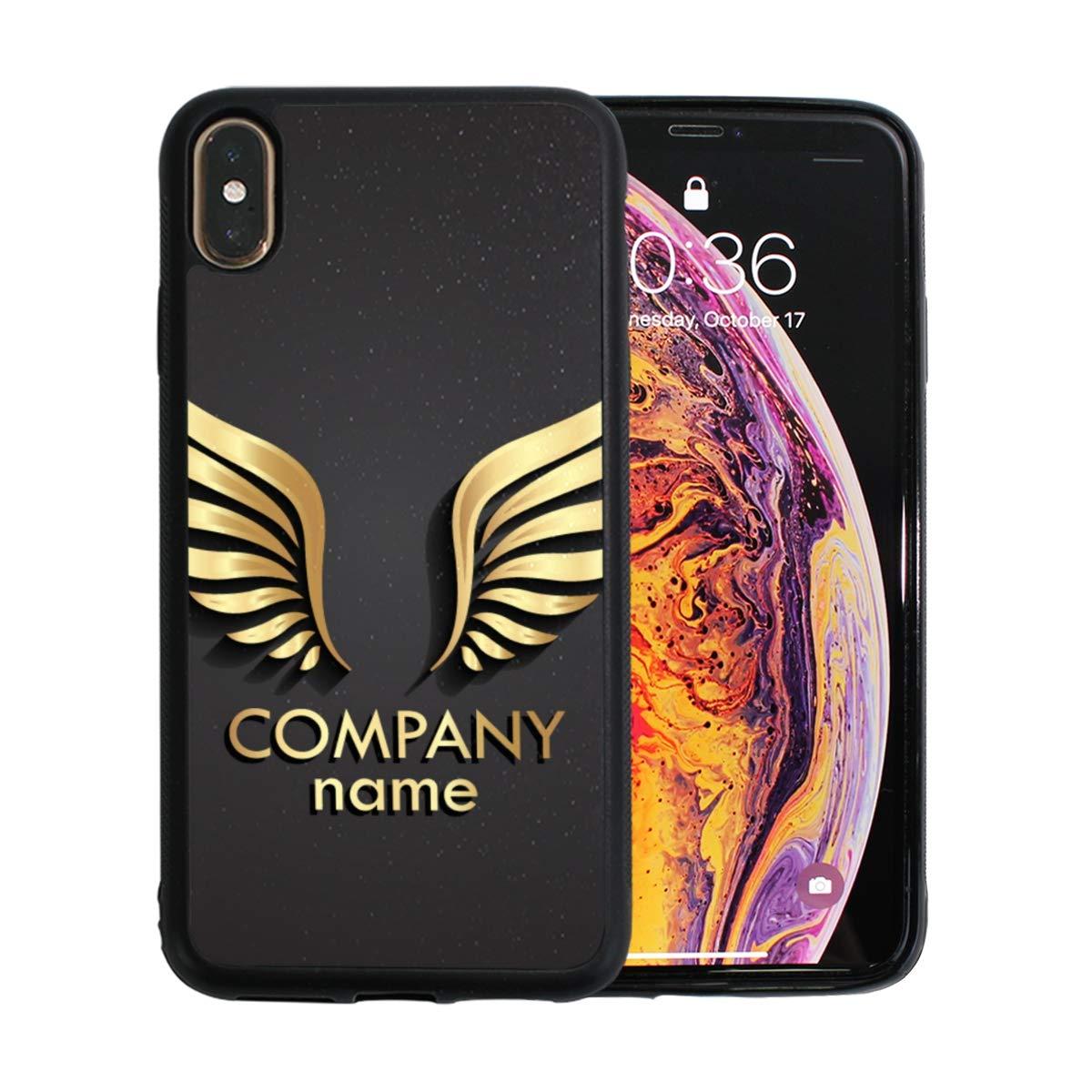 Amazon Com Artwork Blue Angel Wings Iphone Xs Max Case