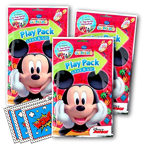 Disney Mickey Mouse Coloring Pack Party Activity Favors
