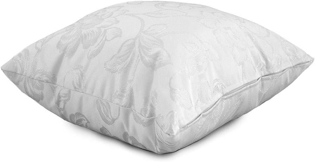 Cuscino arredo Linton laminato damascato 50x50 cm Q289