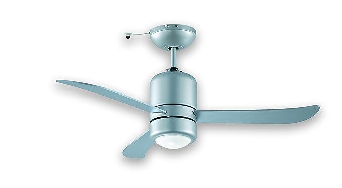 Ventilatore da soffitto per esterno interno pale in abs marrone