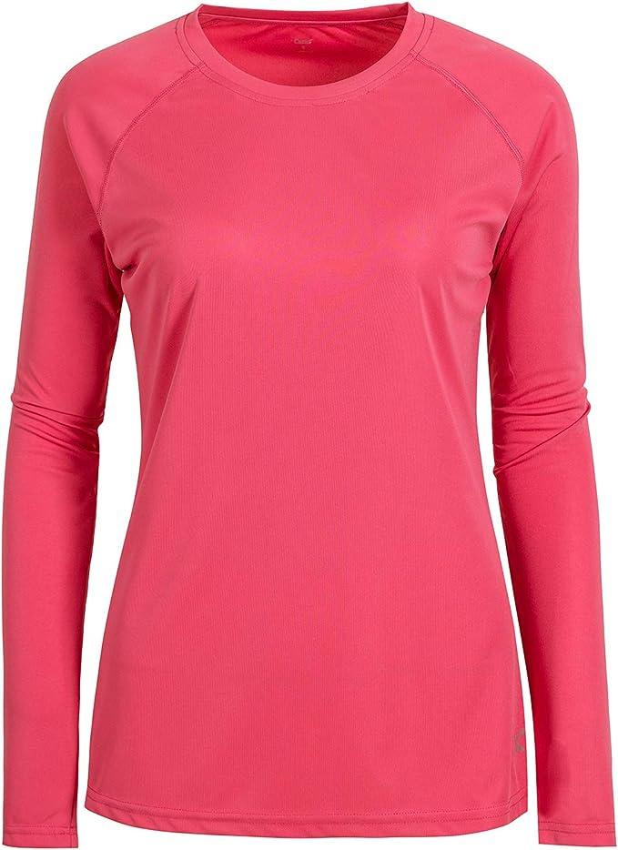 KEFITEVD Womens Long Sleeve Running Shirts Lightweight Workout Tops with 1//4 Zip Collar for Spring Autumn